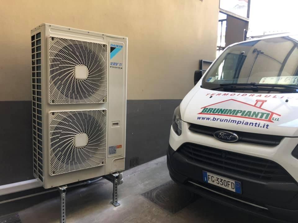 Brunimpianti Pistoia installazione e manutenzione imianti di climatizzazione